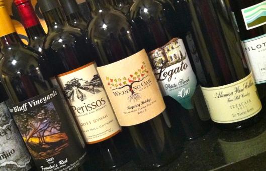 texas wines