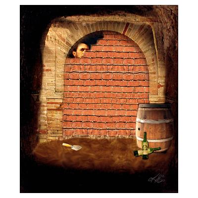the cask of amontillado central idea Plot diagram - the cask of amontillado summary expositon conflict rising action during carnival in italy, montresor runs into fortunato, and offers to.